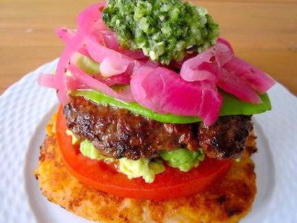 Ecuadorian burger recipe burgers here and there burger forumfinder Gallery